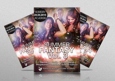 Flyer Summer Fantasy Vol. 3